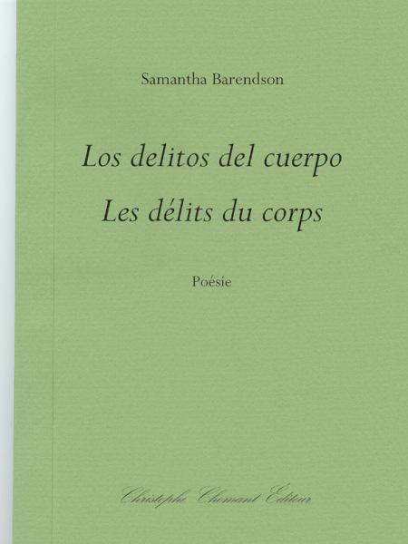 Couverture du recueil 'Les délits du corps'