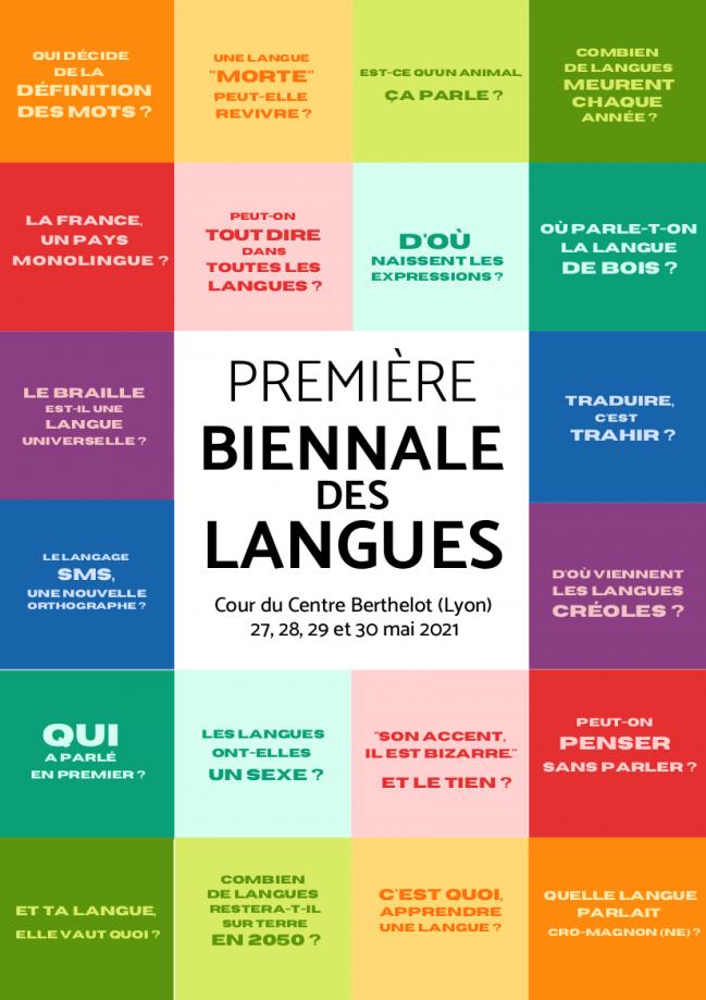 Plaquette biennale des langues
